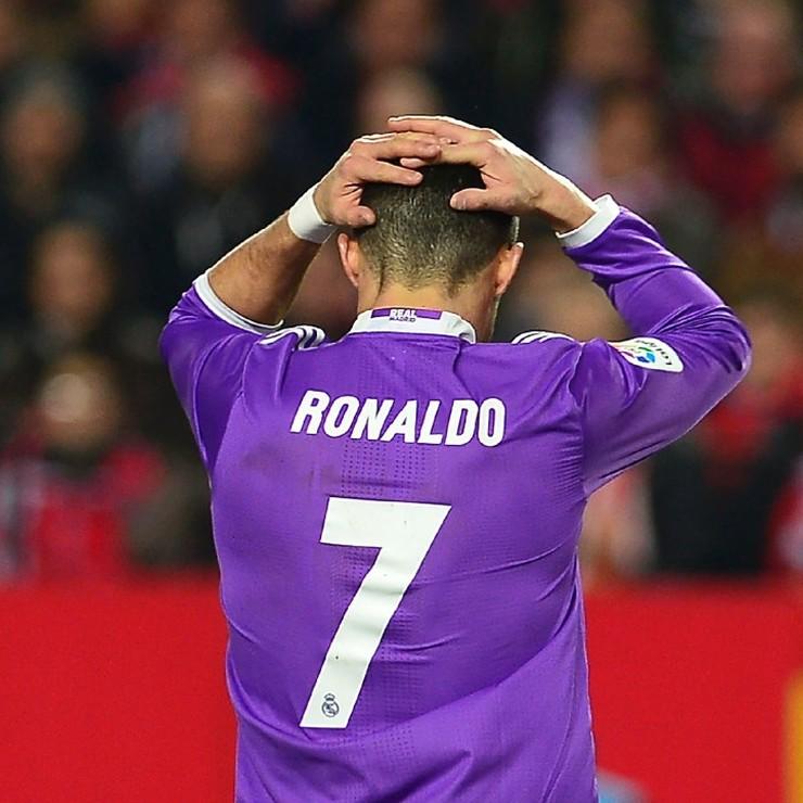 Cristiano Ronaldo weet ook weer eens wat verliezen is © AFP