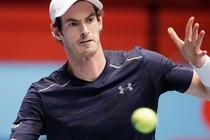 Andy Murray zit in de kwartfinales in Wenen. © AFP