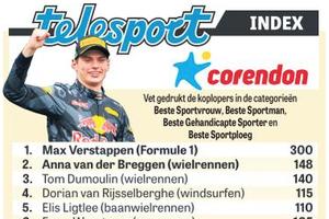 De ranglijst © De Telegraaf