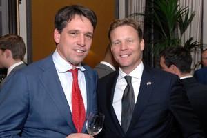 Rutger Arisz (links). © Jos van Leeuwen.