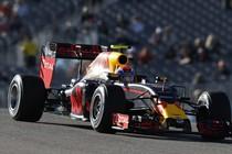 Max Verstappen in actie. © Red Bull